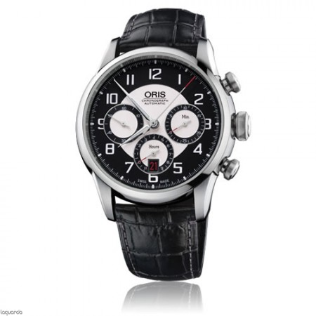 Relojs Oris RAID 2011 Chronograph Limited Edition 01 676 7603 4094-Set-LS
