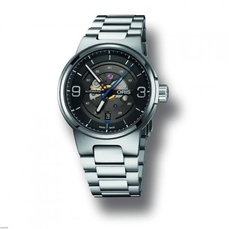 Oris 01 733 7716 4164 8 24 50 Williams Engine, Date