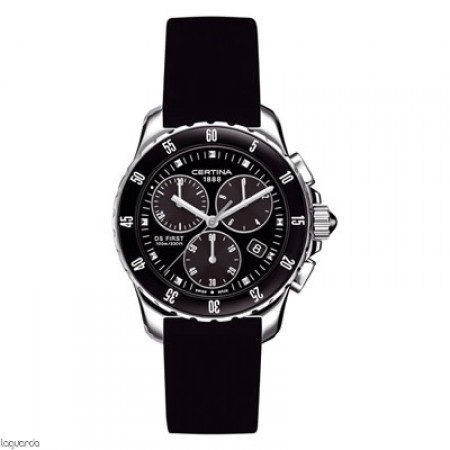 Reloj Certina DS First Lady Chrono Ceramic C014.217.17.051.00 Laguarda Joiers.com