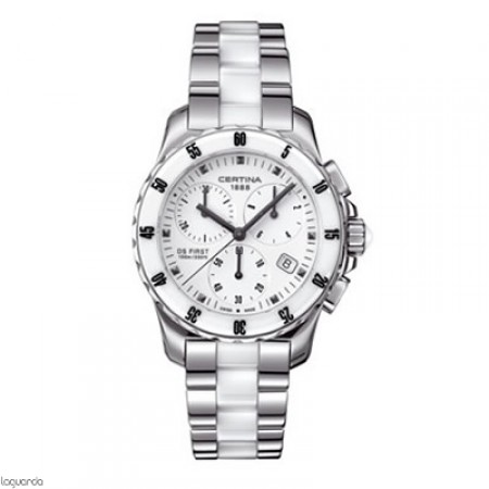 Reloj Certina DS First Lady Chrono Ceramic C014.217.11.011.01 Laguarda Joiers.com