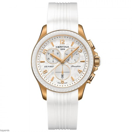 Reloj Certina DS First Lady Chrono Ceramic C030.217.37.037.00