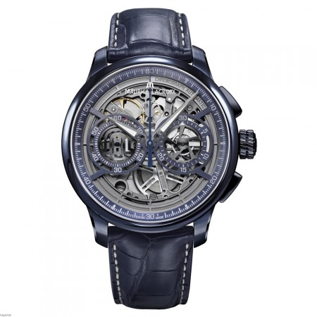 MP6028-PVC01-002-1 - Maurice Lacroix Masterpiece Skeleton 2017 Chronograph Limited Edition