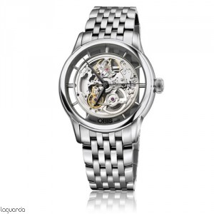 Oris 01 734 7684 4051 MB Artelier Translucent Skeleton