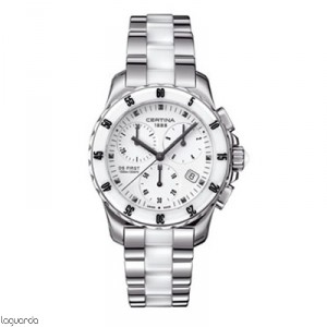 Certina C014.217.11.011.01 DS First Lady Chrono Ceramic