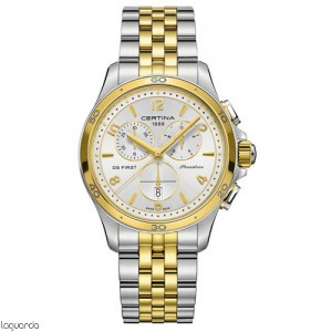 Certina C030.217.22.037.00 DS First Lady Chrono Ceramic