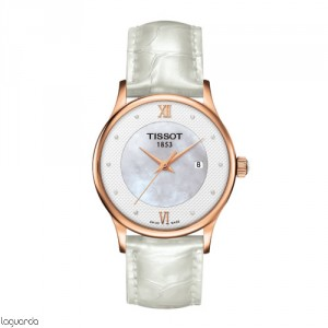 Tissot T-Gold Rose Dream Quartz T914.210.76.116.00 Lady