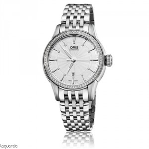 Oris 01 561 7687 4951 MB Artelier Date Diamonds