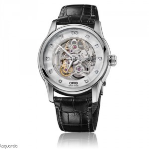 Oris 01 734 7670 4019 LS Artelier Skeleton Diamonds