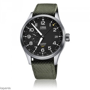 Oris ProPilot GMT 01 748 7710 4164 TS Verde Big Crown