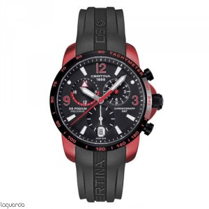 Certina C001.639.97.057.01 DS Podium Chrono GMT Aluminium