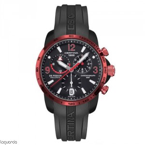 Certina C001.639.97.057.02 DS Podium Chrono GMT Aluminium