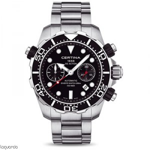 Certina C013.427.11.051.00 DS Action Diver''s Chrono Valjoux Automatic