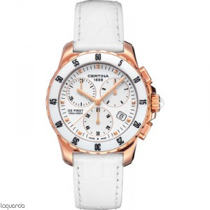 Certina C014.217.36.011.00 DS First Lady Chrono Ceramic