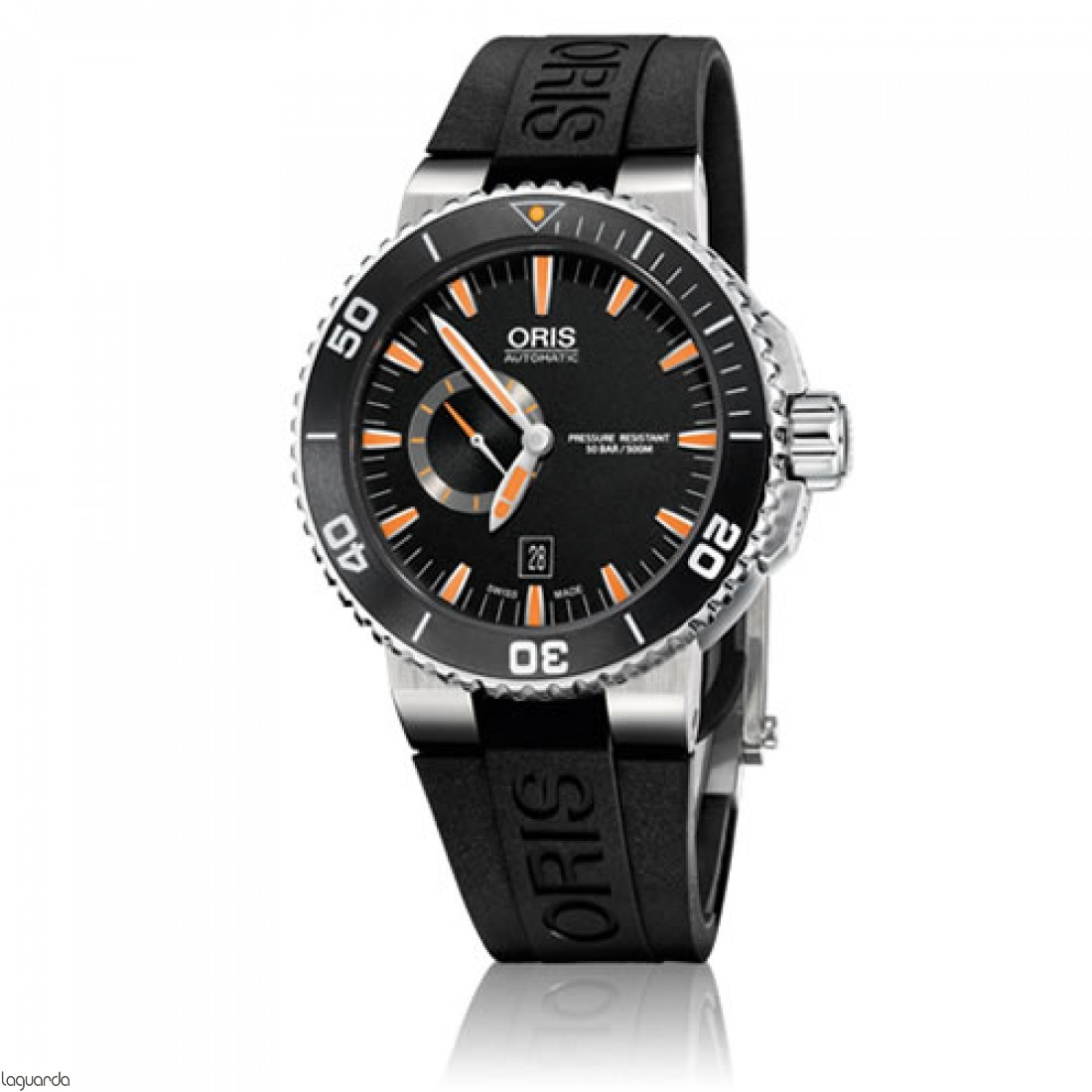 Reloj Oris Aquis Small Second Date 01 743 7673 4159 RS
