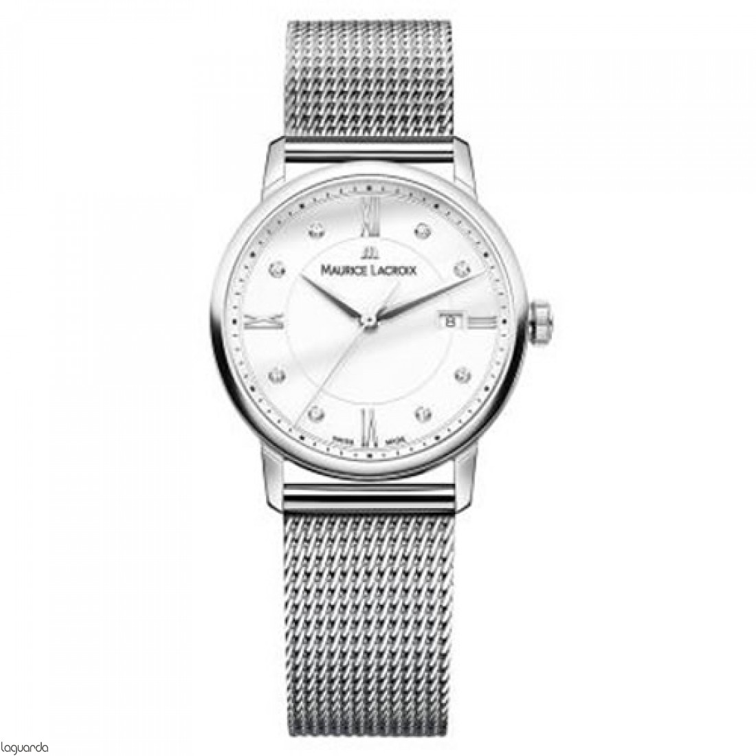 Reloj Maurice Lacroix Date Lady EL1094-SS002-150-2