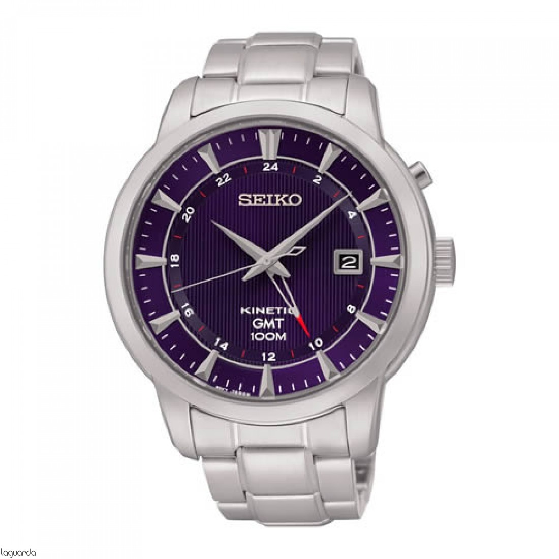 Reloj Seiko Neo Sports SUN031P1 Kinetic GMT