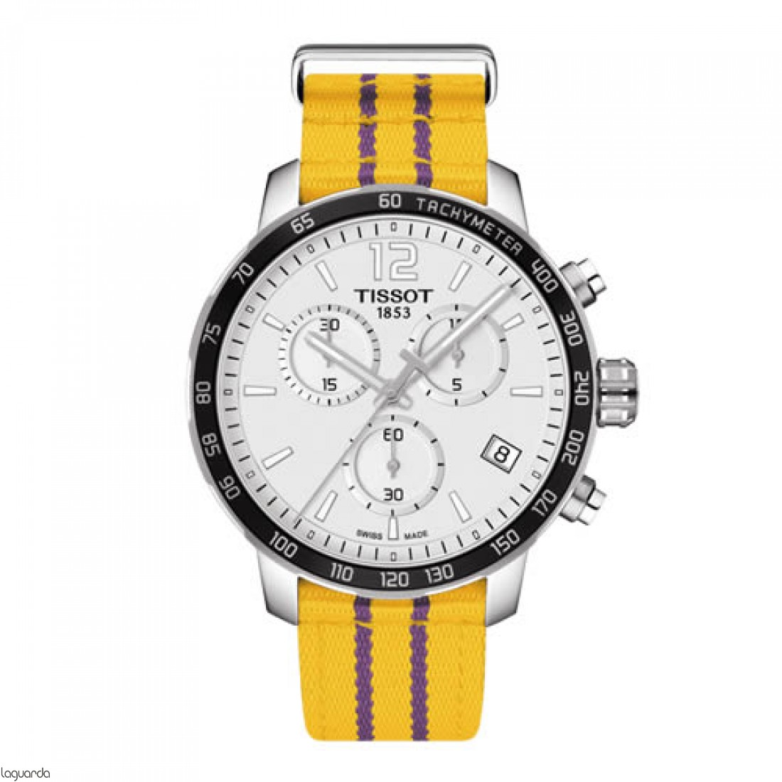 Reloj Tissot Los Angeles Lakers Quickster T095.417.17.037.05