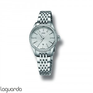 Oris 01 561 7722 4951 8 14 79 FC Artelier Lady Date Diamonds