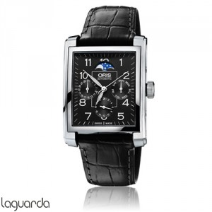 Oris 01 582 7658 4034 LS Rectangular Complication
