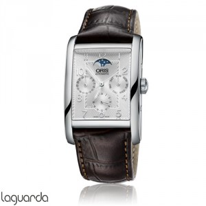 Oris 01 582 7694 4061 LS Rectangular Complication