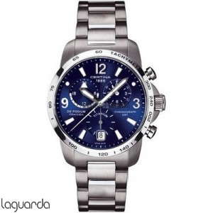 Certina C001.639.44.047.00 DS Podium Big Size Chrono GMT