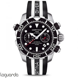 Certina C013.427.17.051.00 DS Action Diver''s Chrono Valjoux Automatic