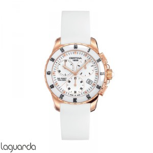 Certina C014.217.37.011.00 DS First Lady Chrono Ceramic