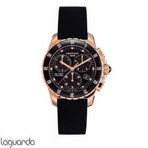 Certina C014.217.37.051.00 DS First Lady Chrono Ceramic