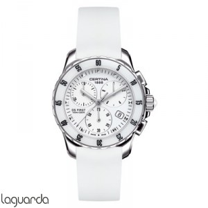 Certina C014.217.17.011.00 DS First Lady Chrono Ceramic
