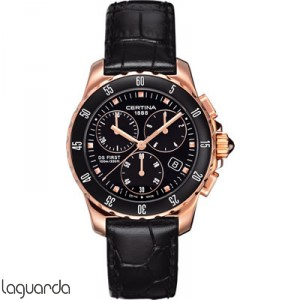 Certina C014.217.36.051.00 DS First Lady Chrono Ceramic