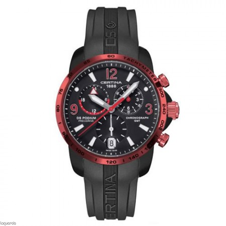Reloj Certina C001.639.97.057.02 DS Podium Chrono GMT Aluminium.