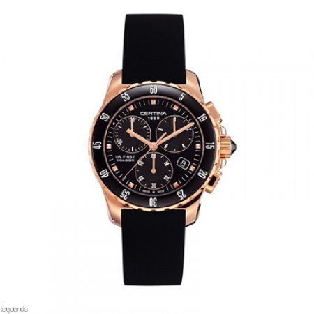 Reloj Certina DS First Lady Chrono Ceramic C014.217.37.051.00 Laguarda Joiers.com