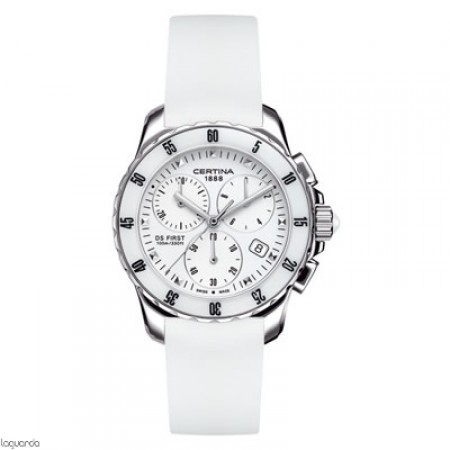 Reloj Certina DS First Lady Chrono Ceramic C014.217.17.011.00 Laguarda Joiers.com