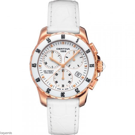 Reloj Certina DS First Lady Chrono Ceramic C014.217.36.011.00 Laguarda Joiers.com