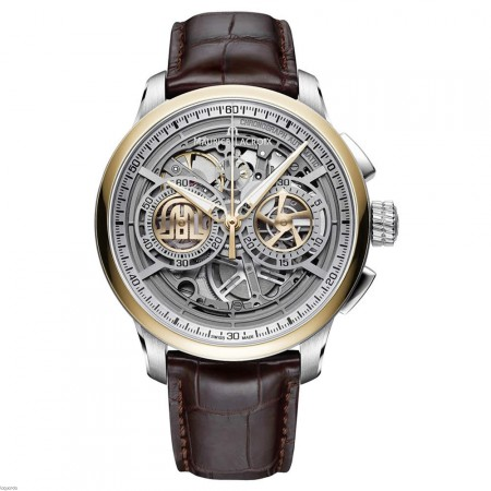 MP6028-PS101-001-1 - Maurice Lacroix Masterpiece Skeleton Chronograph
