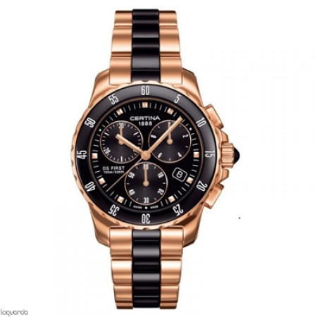 Reloj Certina DS First Lady Chrono Ceramic C014.217.33.051.00 Laguarda Joiers.com