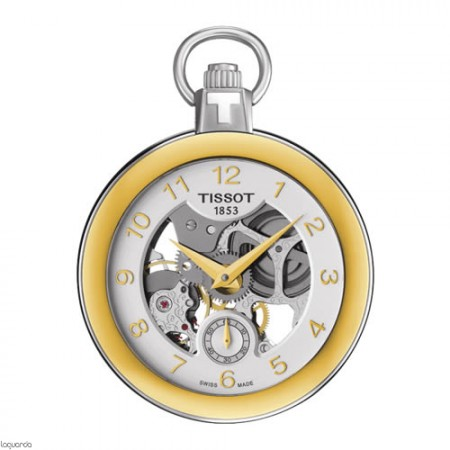 Reloj Tissot T-Pocket Skeleton Mechanical T853.405.29.412.00