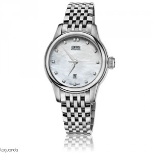 01 561 7687 4091 Oris Artelier Date Diamonds MB