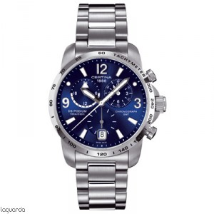 Certina DS Podium Big Size C001.639.11.047.00 Chrono GMT