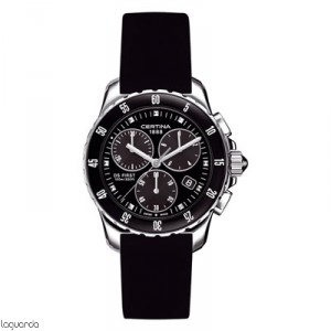 Certina DS First Lady Chrono C014.217.17.051.00 Ceramic