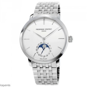 Frederique Constant Slimline Moonphase FC-705S4S6B