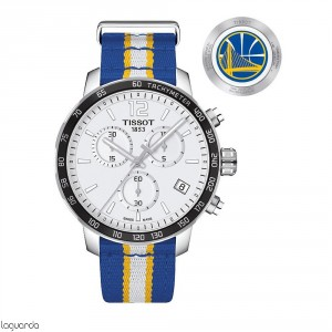 T095.417.17.037.15 Tissot Quickster NBA Teams - Golden State Warriors