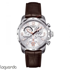 Certina DS Podium Big Size C001.639.16.037.01 Chrono GMT