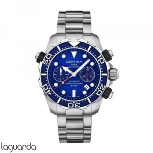 Certina DS Action Diver's C013.427.11.041.00 Chrono Valjoux Automatic