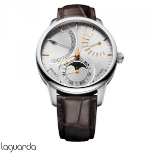 Maurice Lacroix Masterpiece MP6528-SS001-130 Automatique Lune Retrograde