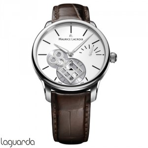 Maurice Lacroix Masterpiece MP7158-SS001-101 Roue Carree Seconde