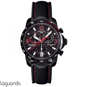 Certina DS Podium Big Size C001.639.16.057.02 Chrono GMT