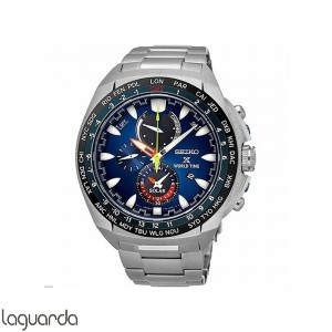 SSC549P1 Seiko Prospex Sea Chronograph Solar World Time
