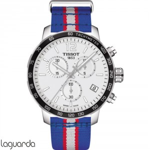 T095.417.17.037.22 Tissot Quickster NBA Teams - Detroit Pistons