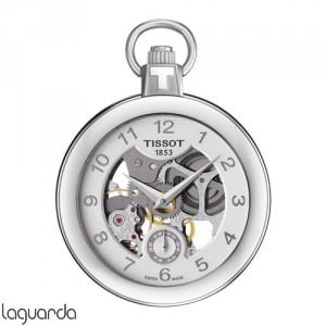 Tissot T-Pocket Mechanical Skeleton T853.405.19.412.00